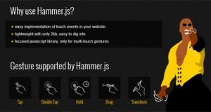 hammer-js-gesture